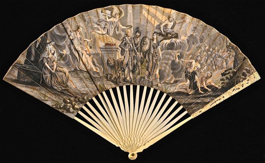 1745 Jacobite Fan RJ Silversteins georgewashingtoninauguralbuttons.com O