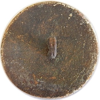 1826-40 Texas Navy 26mm Gilt Brass Orig Shank Dug Stan Glanzer from Galveston Bay in 70's RJ Silversteins georgewashingtoninauguralbuttons.com R