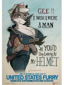 Gee I Wish I Were A Man by wolfjedisamuel O