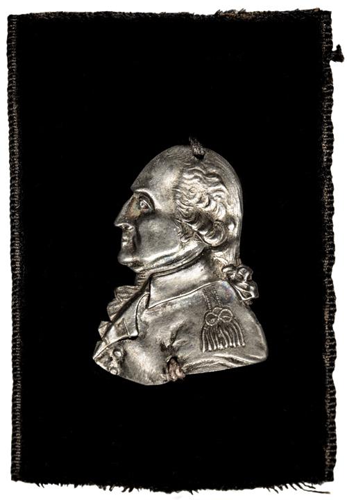 1799:1800 George Washington Funeral Medal The Victor Sine Clade Baker 164 E.A. Auctions 24k RJ Silversteins georgewashingtoninauguralbuttons.com O