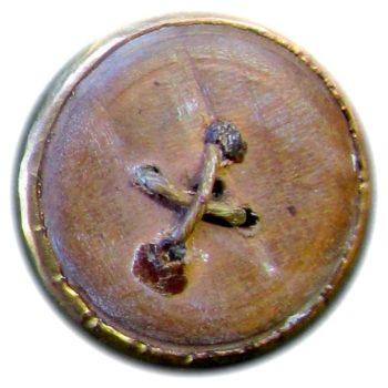 1775-94 General Button 26mm Floral Swirl Dot Rope Edge Trim Border R