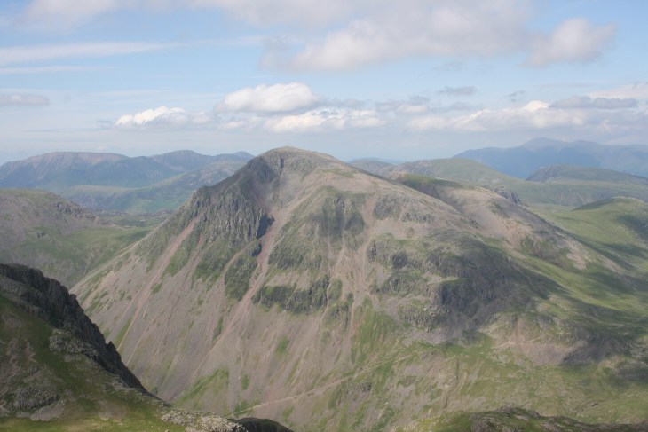 Great Gable from Broad Crag