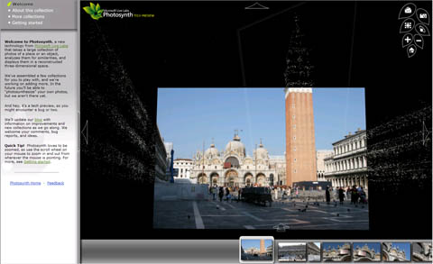 Photosynth Screenshot