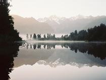 Winter: Lake Matheson