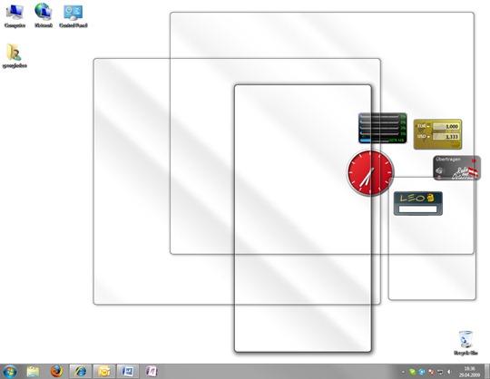 Windows 7, Aero Peak