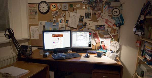 Georgs Schreibstube anno 2007