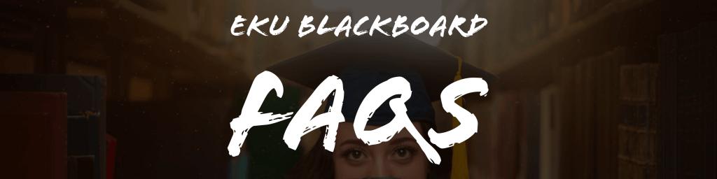 EKU Blackboard FAQ