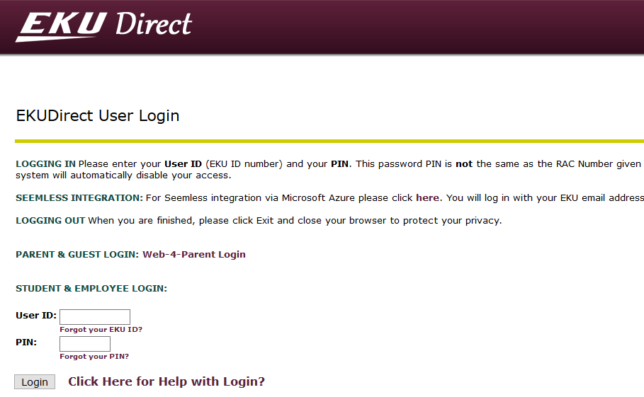 EKU Direct