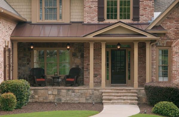 Porches With Stone Stone Porch Designs Archives GFP