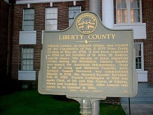 Liberty County Marker