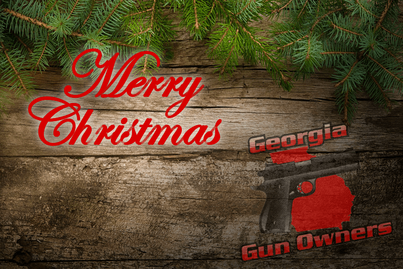 Merry Christmas from Georgia Gun Owners!