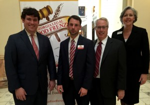 The Legal Food Frenzy kicked off on Tuesday at the Georgia Capitol.