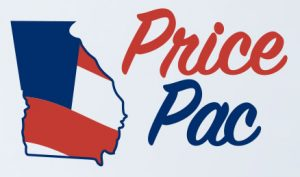 This logo for the Price PAC appears on the committee's mailings.