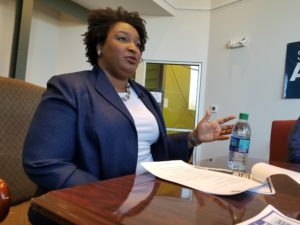 Stacey Abrams announces her economic mobility plan