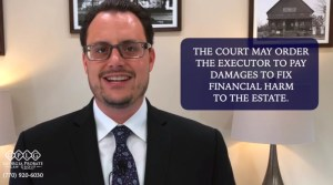 What to do if executor does not follow the will