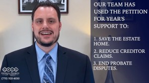 Petition for year's support