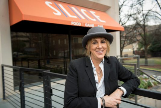 Karen Smiley, Owner of Slice