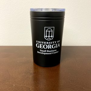 Black Insulated Tumbler - Front