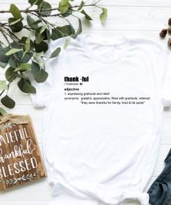 Thankful Shirt Mockup