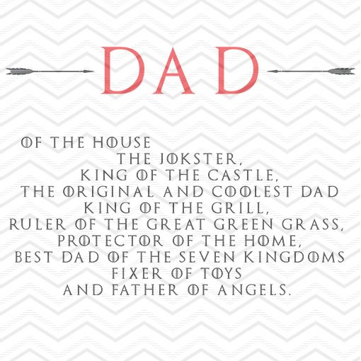 Dad Title of the Kingdoms