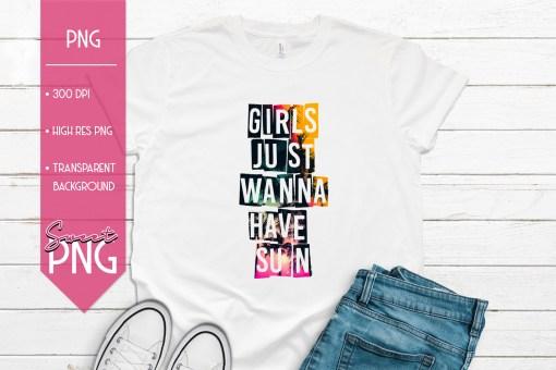 Girls Just Wanna Have Sun 1