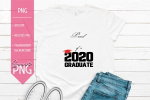 Proud Add Your Own Name of a 2020 Graduate Mockup
