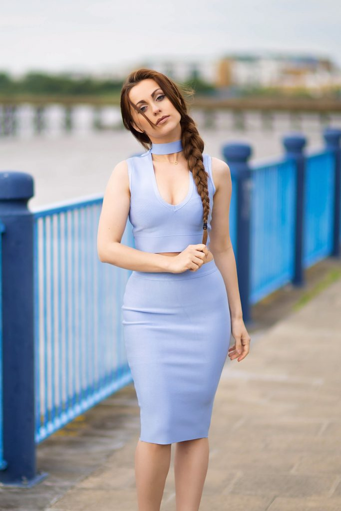 Baby Blue Bodycon