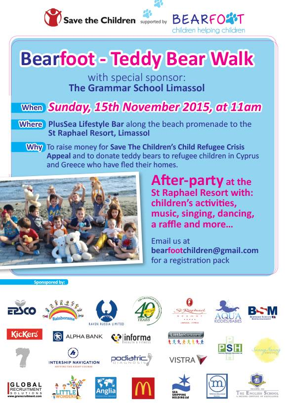 The Teddy Bear Walk