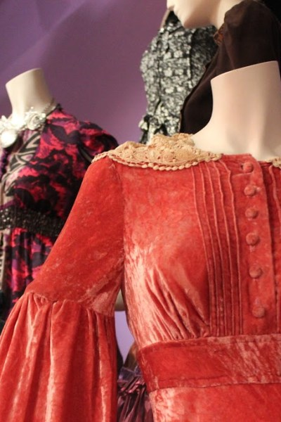 The World of Anna Sui Exhibition at the Fashion and Textile Museum, London