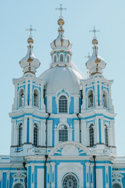 smolny cathedral st petersburg