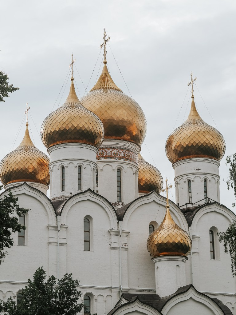 Church of the Assumption in Yaroslavl, Russia
