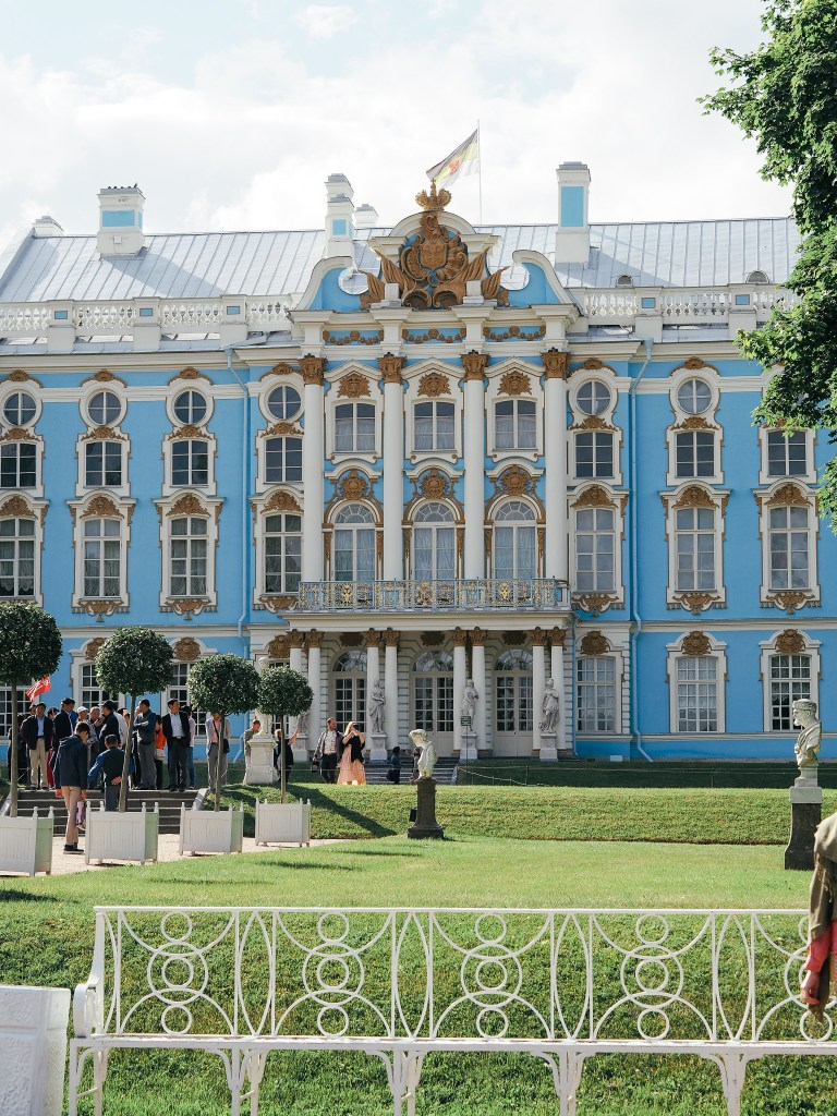 catherine's palace gardens russia