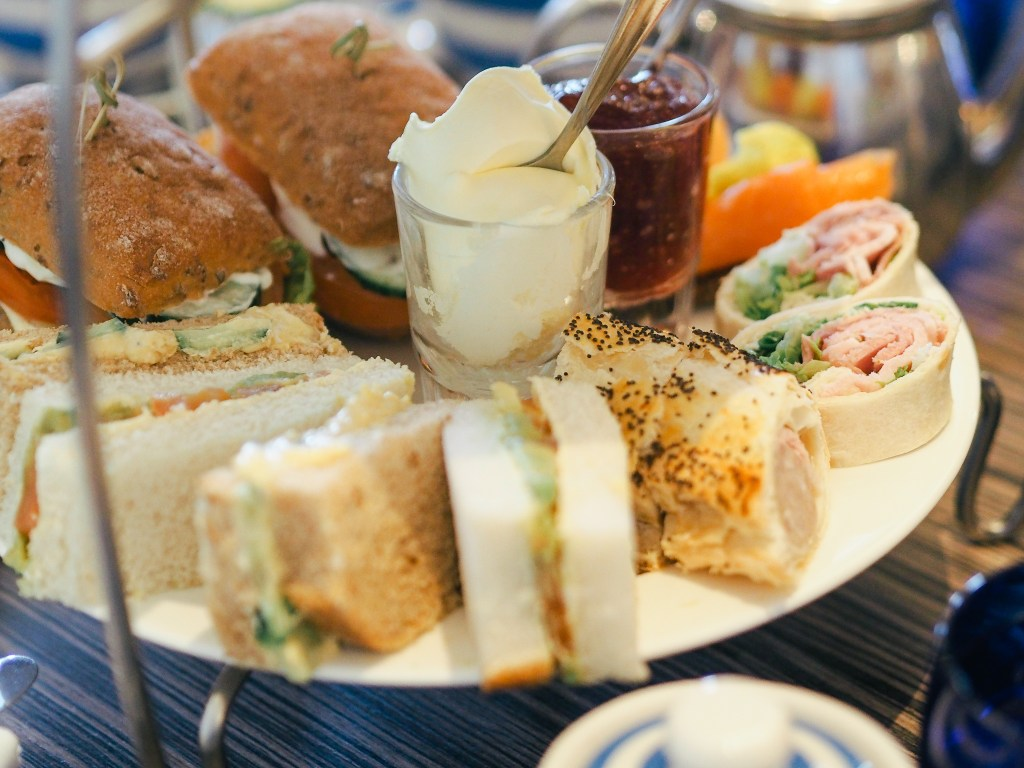 dairy free sandwiches christchurch harbour hotel dorset afternoon tea