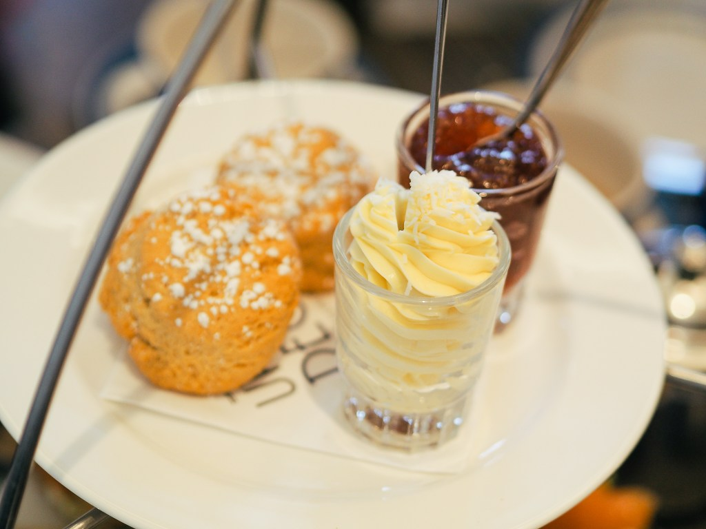 dairy free scones afternoon tea christchurch harbour hotel dorset