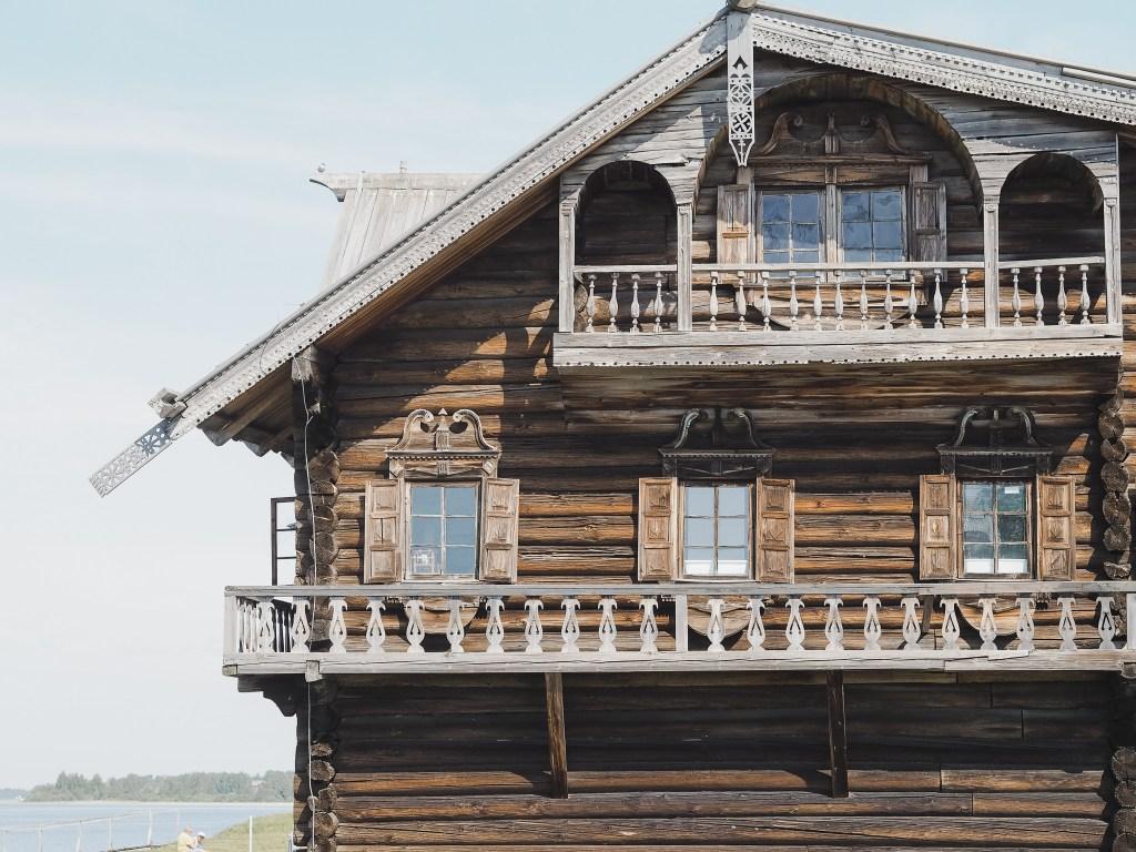 russian peasant's home kizhi island