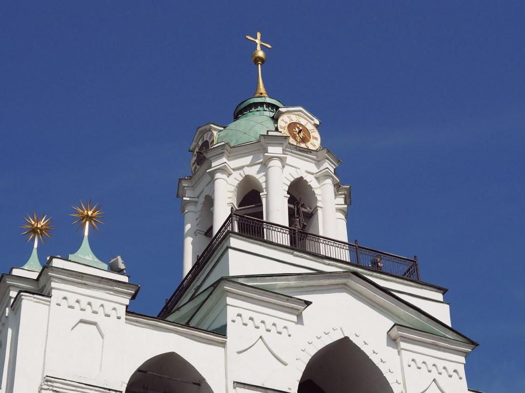 bell tower transfiguration monastery yaroslavl russia