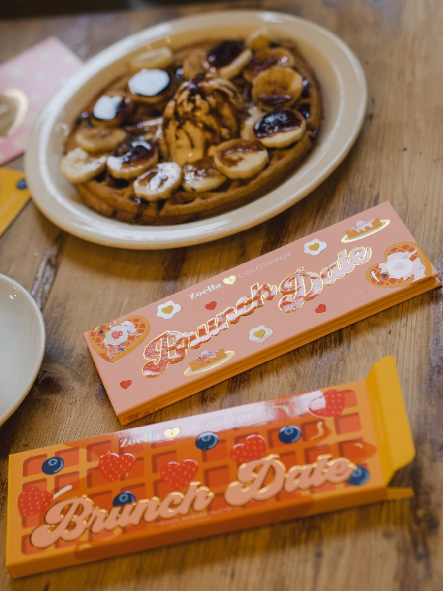 Zoella X ColourPop Brunch Date Collection #ADGIFTED
