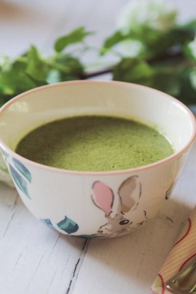 vegan courgette soup