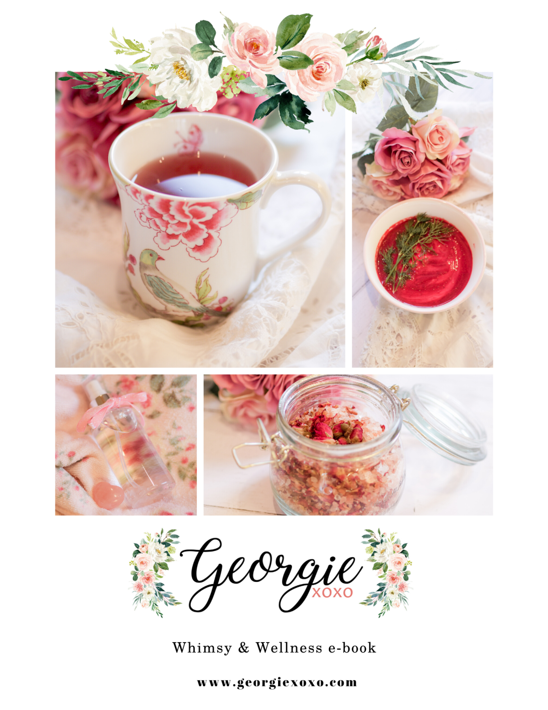 whimsy wellness ebook by georgie xoxo
