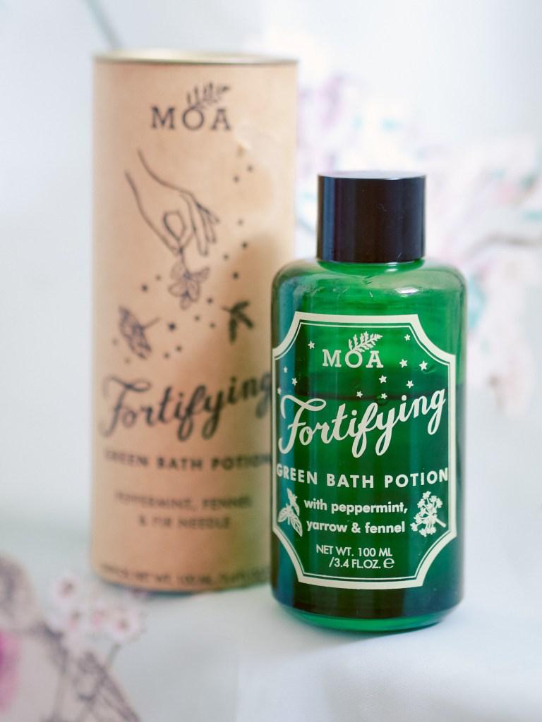 MOA - MAGIC ORGANIC APOTHECARY Fortifying Green Bath Potion