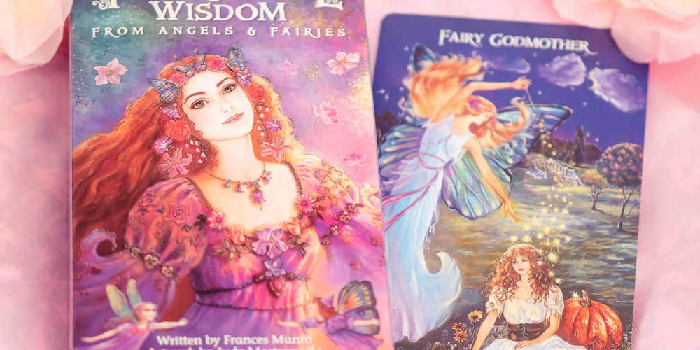 Inspirational Wisdom from Angels & Fairies by Frances Munro and Judy Mastrangelo Review