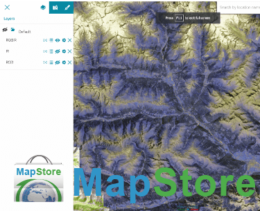 MapStore Release 2016.04.00