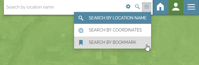 Search tool - New option for bookmarks