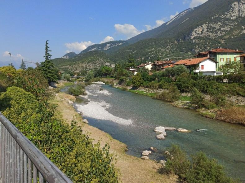 Ścieżka rowerowa wzdłuż Doliny rzeki Sarca