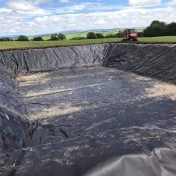 Slurry Lagoon and floating cover project