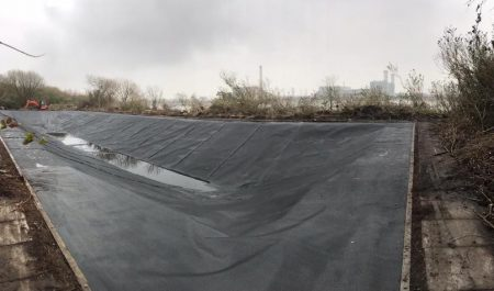 Reservoir Liners Restoration - After 1
