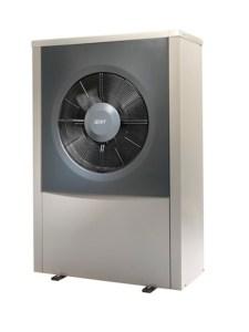 pompa di calore aria acqua IVT AirX unità esterna