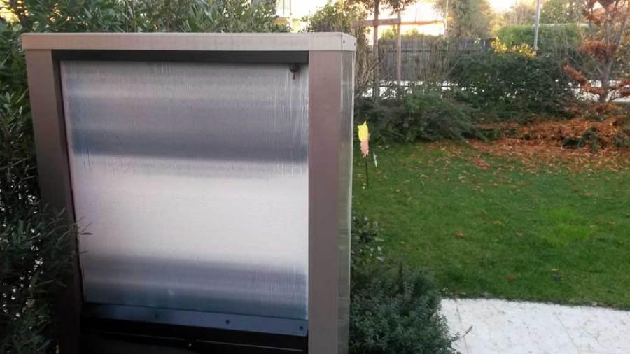 brina scambiatore posteriore evaporatore pompa di calore aria acqua IVT AirX