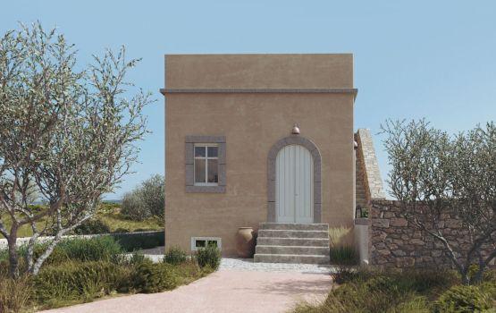 greek island architecture Kythera greek home architecture design 3d