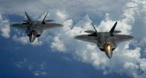 Amerikaanse coalitie bombardeert in Syrië